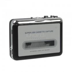 Convertidor De Cassette A Mp3 Capturador De Audio