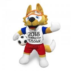 Peluche Zabivaka Mascota Del Mundial Tissu Felpa