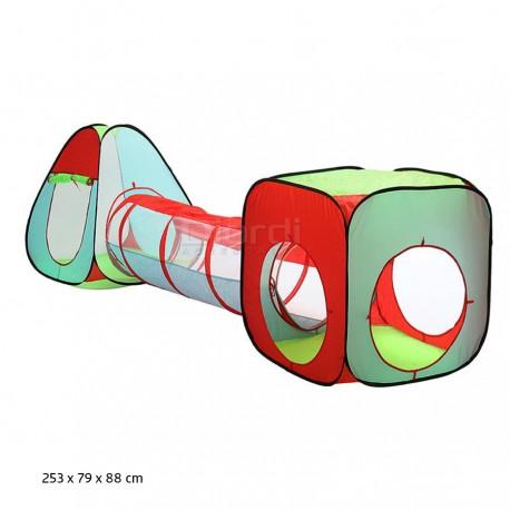 Carpa Túnel Circuito 3 En 1 Eb Everbest
