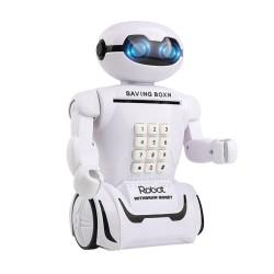 Alcancía Robot Con Lámpara LED Y Contraseña