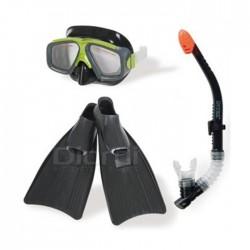 Kit de Buceo Azul Gafas Snorkel Pataletas