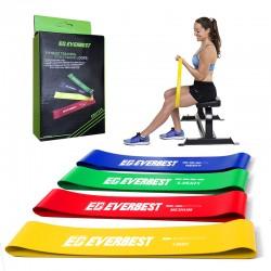 Set de Bandas Elásticas ideal para brazos y piernas