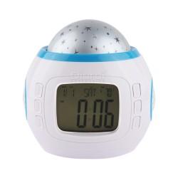 Reloj Alarma Con Luces Y Melodías Fecha