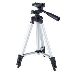 Trípode Retráctil Para Cámara DSLR Filmadora Smartphone Aluminio