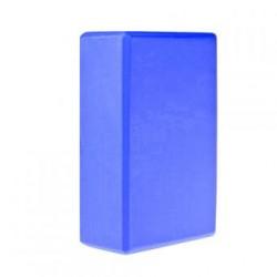 Bloque Cubo Para Yoga Ladrillo De Espuma Eva Azul