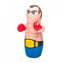 Porfiado Boxeador Muñeco Inflable