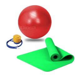Pack Pelota + Mat para Yoga y Ejercicios