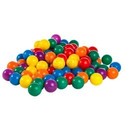 Set de 100 Pelotas Multicolor