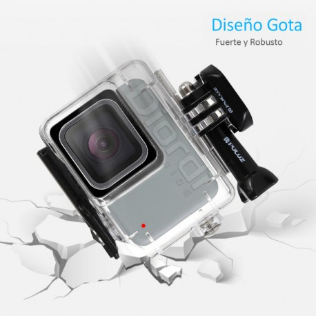 Case sumergible Gopro 7 Silver