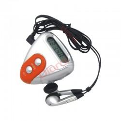 Podómetro Radio Cuenta Pasos Calorias Y Distancia