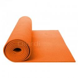 Colchoneta Mat Yoga Pilates Anaranjado 8mm + Bolso Maletín