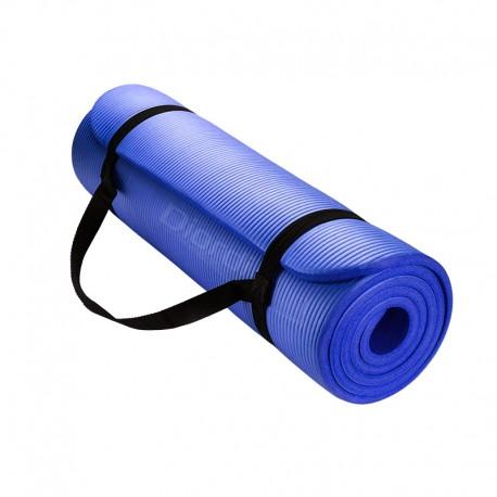 Colchoneta Yoga Mat Pilates Fitness 10 mm - Azul