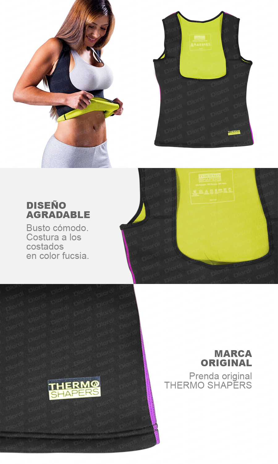 Detalles Bividí Thermo Shapers Mujer