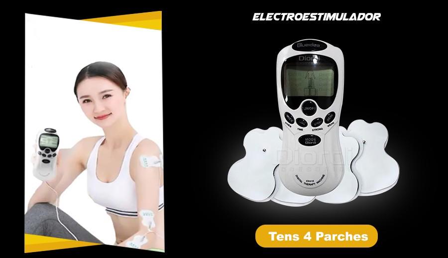 Electroestimulador TENS De Terapia Digital Con 4 Electrodos