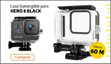 Carcasa Sumergible para GoPro Hero 8 Black